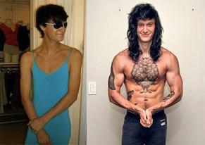transformação do corpo de Shane Duquette