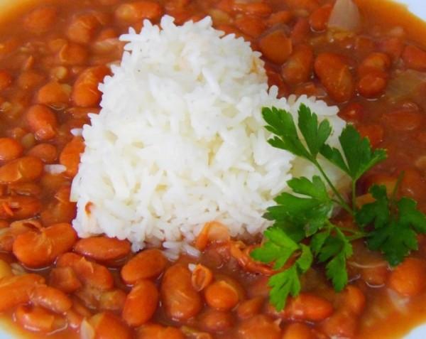 arroz com feijão