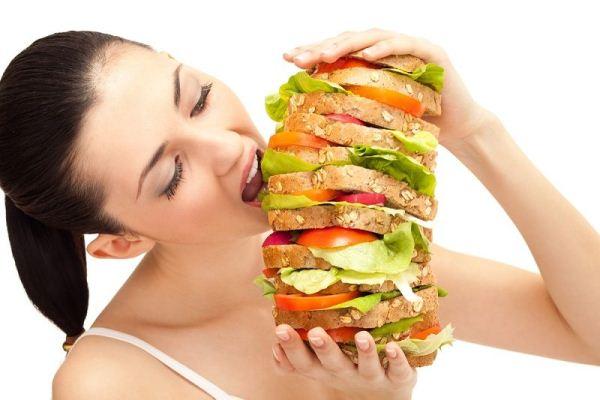 comer muito como engordar