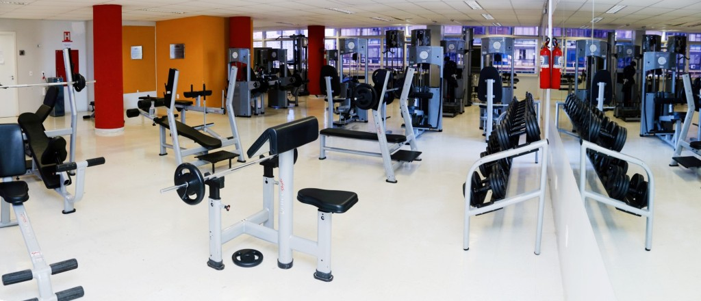 academia de musculação básica
