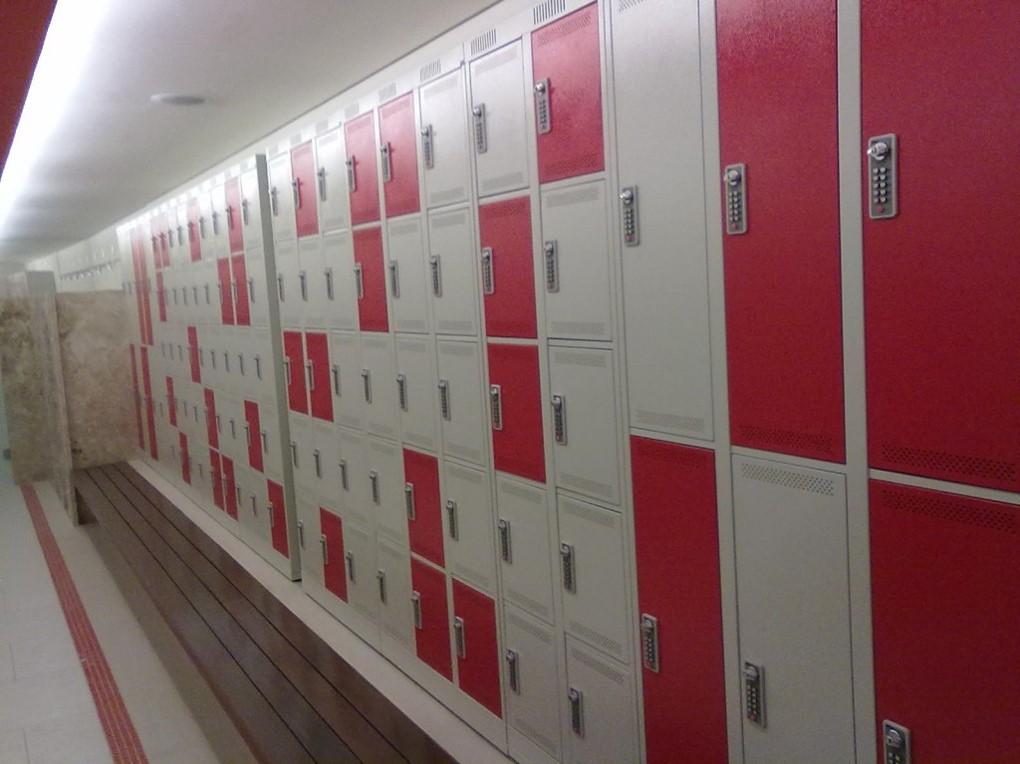armários de academia