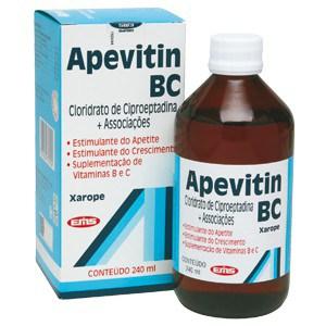 apevitin BC estimulante de apetite e fome