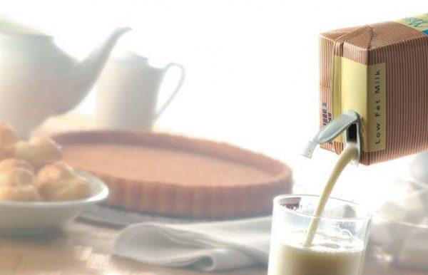 leite uht industrializado de caixinha