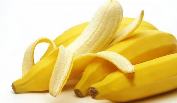 banana com casca e sem casca