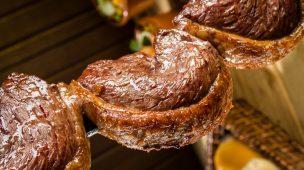 Gordura saturada de carne de churrasco