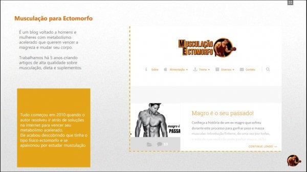 Mídia kit Musculação para Ectomorfo